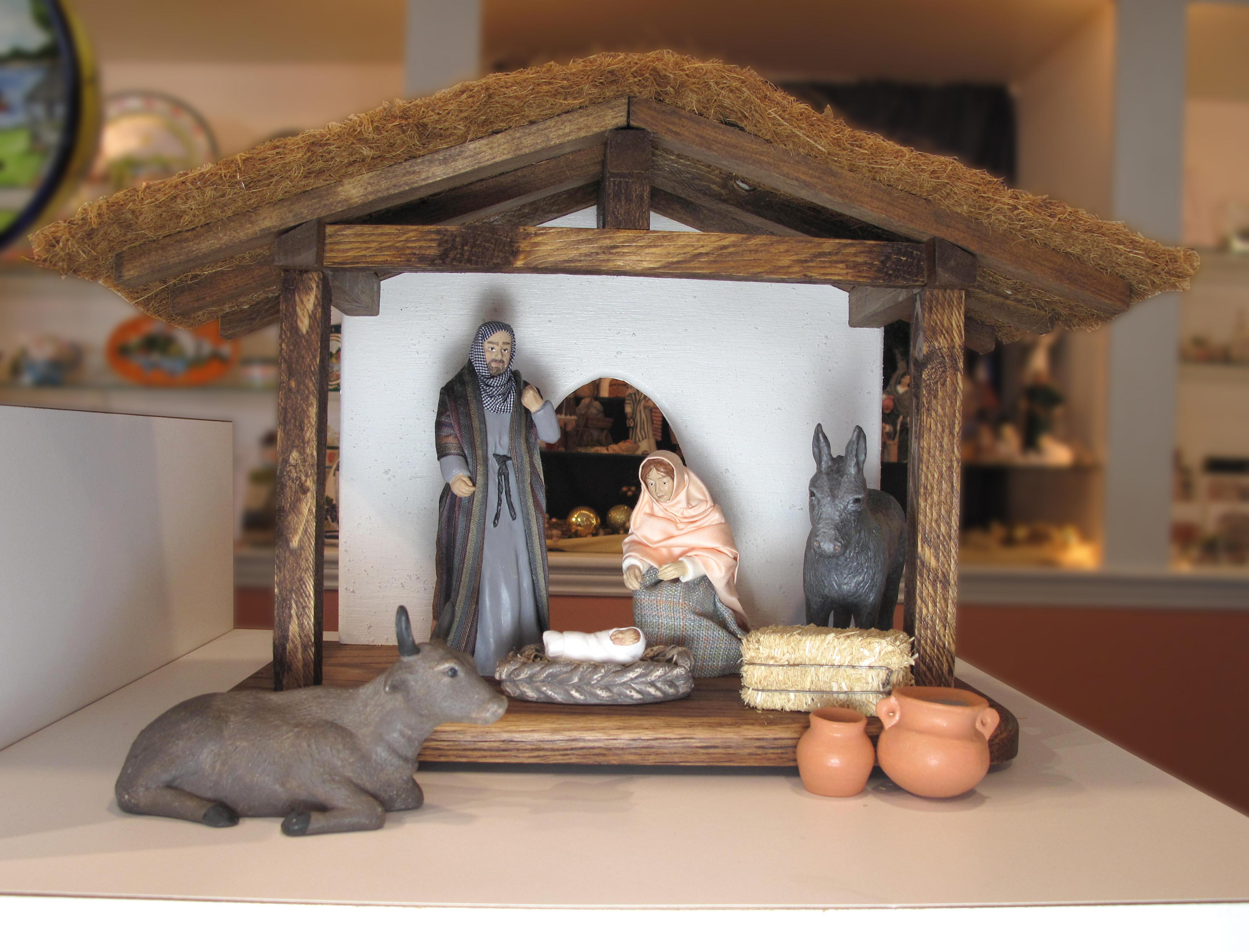 8 Piece Standard Nativity Set NT-FIGS-8STANDARDSETXX