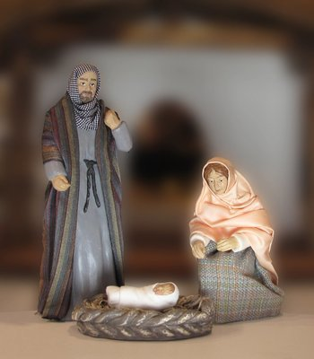 Nativity Set - The Holy Family
