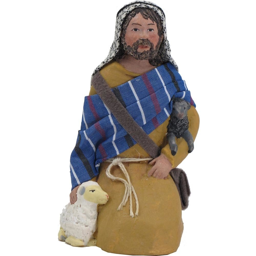 Nativity Figure - Timaeus, Kneeling Shepherd