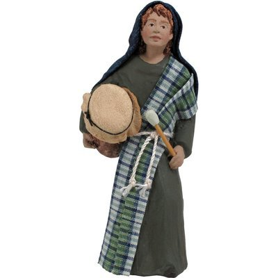 Nativity Figure - Asher, Drummer