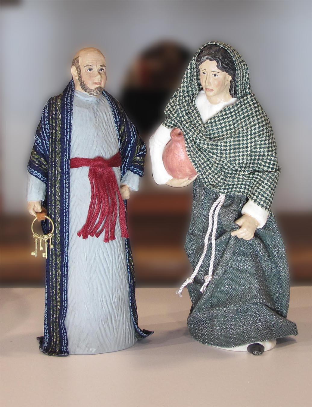 Benjamin, Innkeeper and Leah his wife set