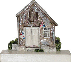 Marblehead VillageScape - Fishing Shanty #1 MA-MARB-VS-00122XXXXX