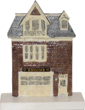 Marblehead VillageScape - Franklin Street Firehouse