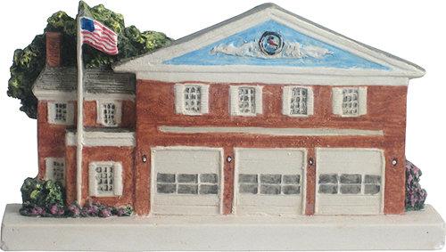 Marblehead VillageScape - Pleasant Street or New Firehouse MA-MARB-VS-00429XXXXX