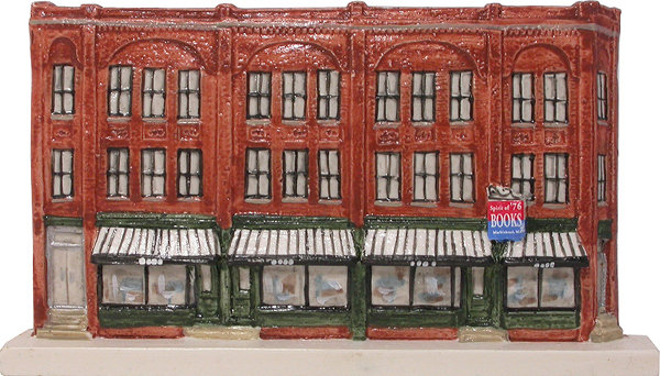 Marblehead VillageScape - Rechabite Block - Spirit of '76 Bookstore