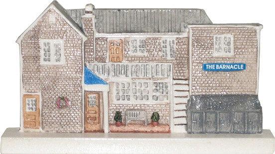 Marblehead VillageScape - The Barnacle Restaurant MA-MARB-VS-00204XXXXX