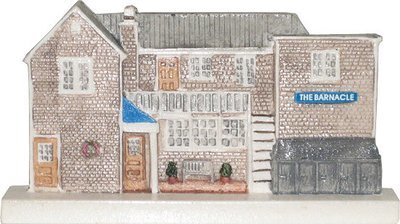 Marblehead VillageScape - The Barnacle Restaurant