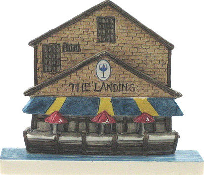 Marblehead VillageScape - The Landing Restaurant MA-MARB-VS-00410XXXXX