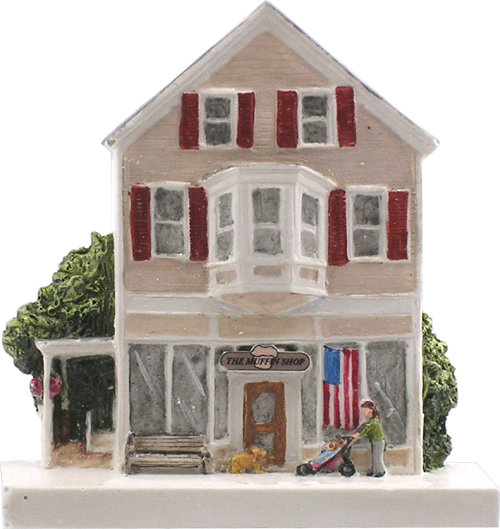 Marblehead VillageScape - The Muffin Shop MA-MARB-VS-00511XXXXX