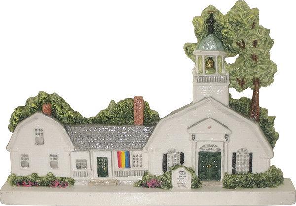 Marblehead VillageScape - Unitarian Universalist Church MA-MARB-VS-00499XXXXX