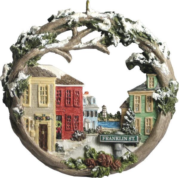 2000 Marblehead Annual Ornament - Franklin Street Downtown MA-MARB-AS-01463WYX00