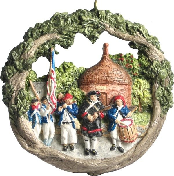 2002 Marblehead Annual Ornament - General Glover's Regiment MA-MARB-AS-02236SYX02