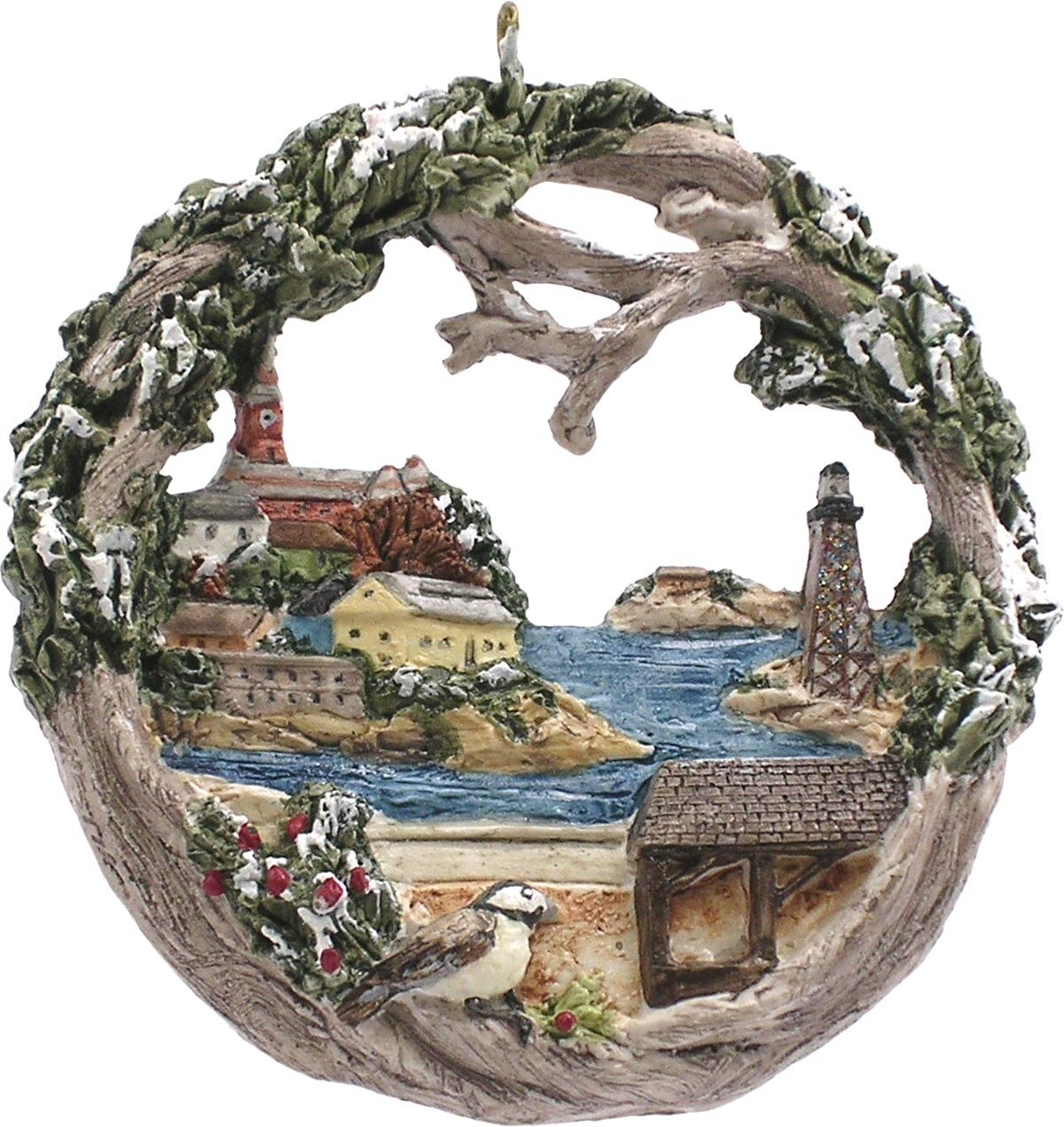 2007 Marblehead Annual Ornament  - Harbor from the Causeway MA-MARB-AS-03669WYX07