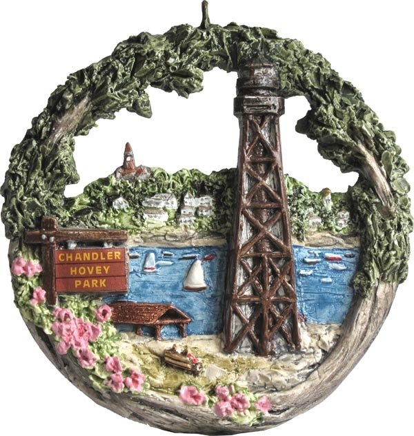 2009 Marblehead Annual Ornament - Chandler Hovey Park MA-MARB-AS-04000SYX09