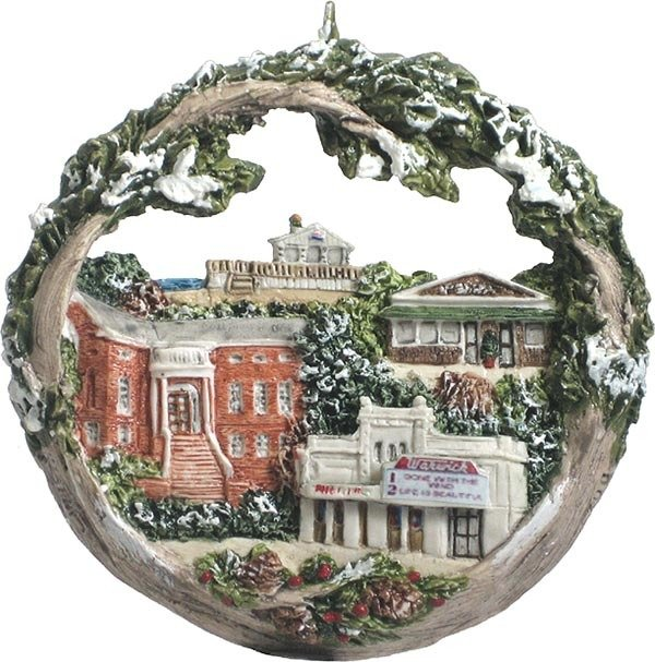 2010 Marblehead Annual Ornament - Remember When MA-MARB-AS-04300WYX10