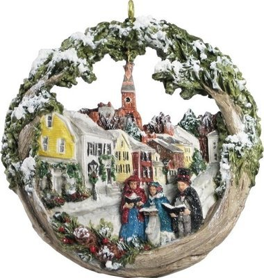 2013 Marblehead Annual Ornament - Carolers on Washington Street