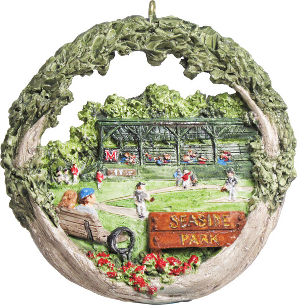 2016 Marblehead Annual Ornament - 100th Anniversary of - the Elliott Roundy Grandstand - at Seaside Park MA-MARB-AS-04890SYX16
