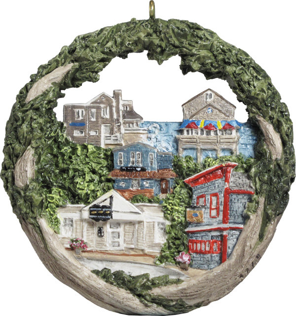 2017 Marblehead Annual Ornament - Marblehead Pub Crawl MA-MARB-AS-04971SYX17