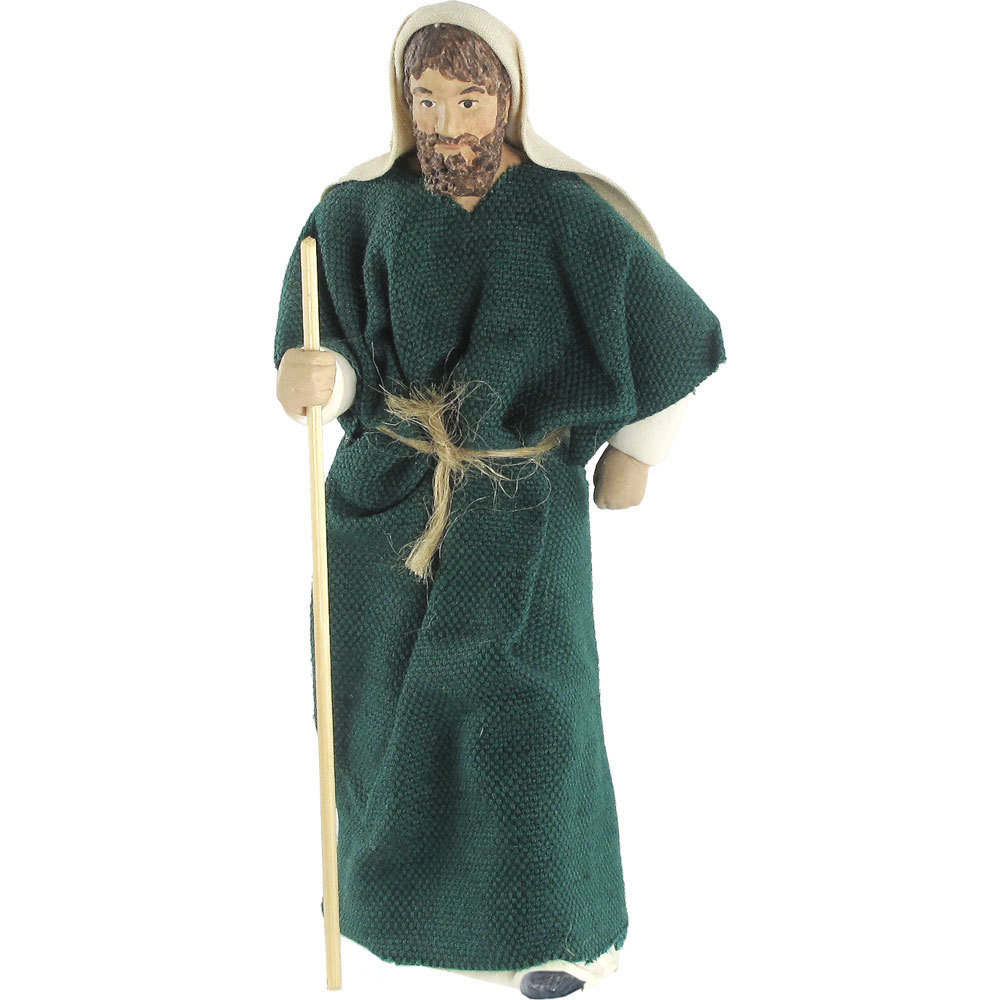 Nativity Figure - Elihu, a Shepherd