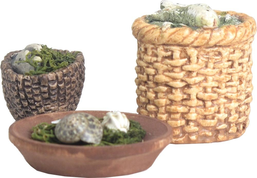 Fish and Shell Baskets