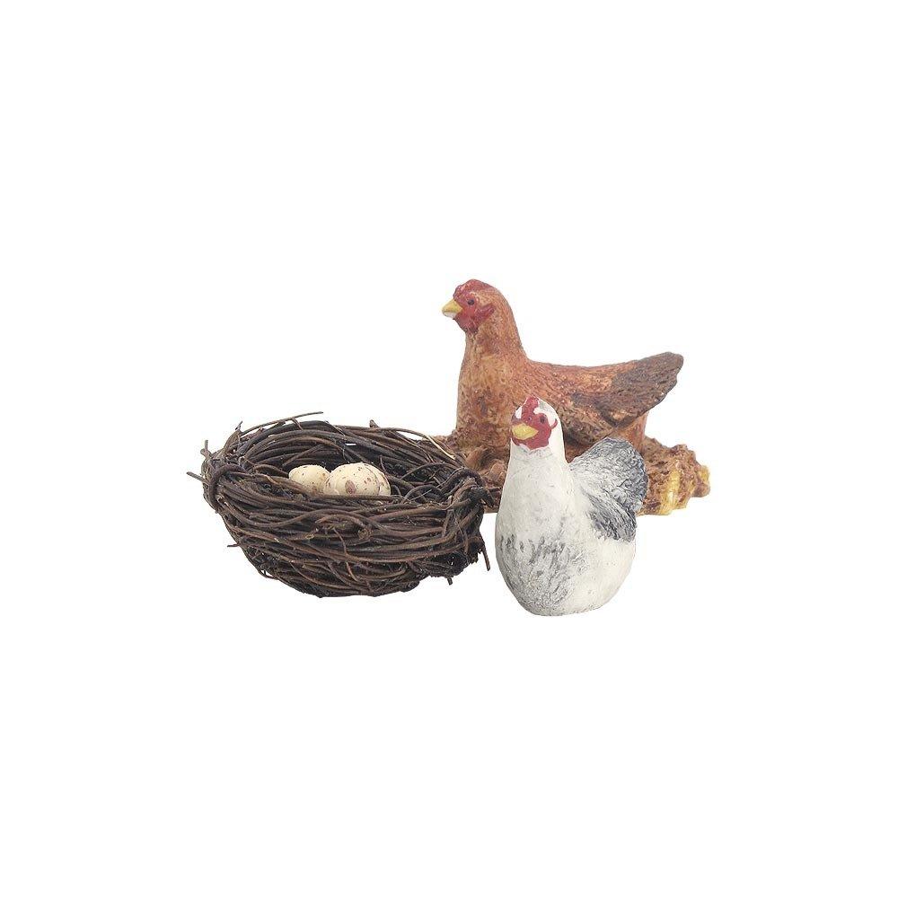 Nativity Animal  - Pair of Chickens