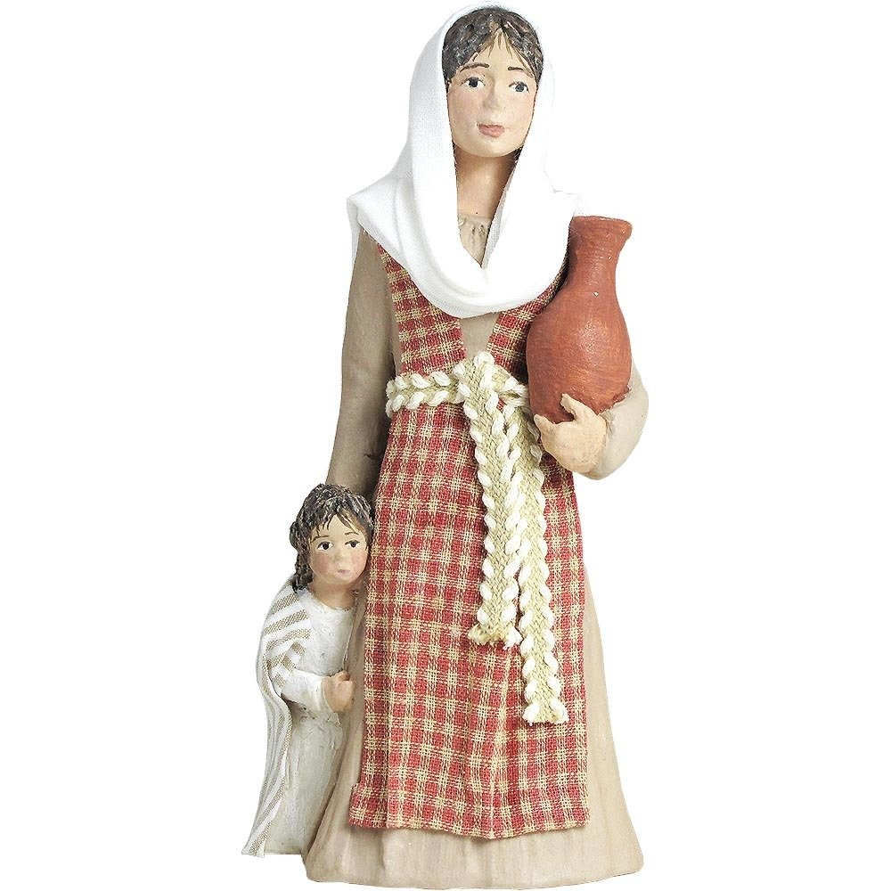 Nativity Figure - Rebekeh, Mother with child NT-FIGU-REBEKEHXX15