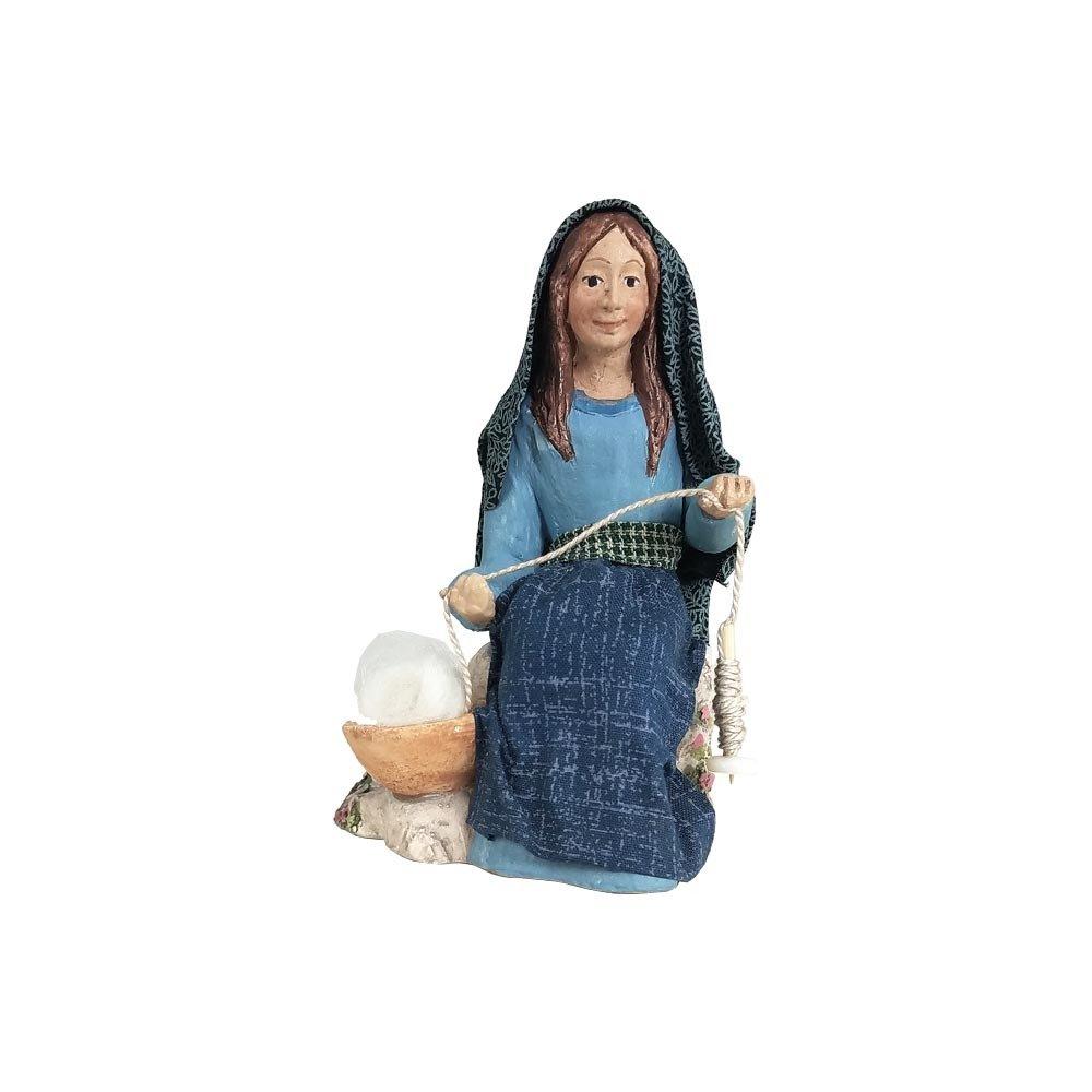 Nativity Figure - Akhati, Weaver Woman NT-FIGU-AKHATIXXXXX17
