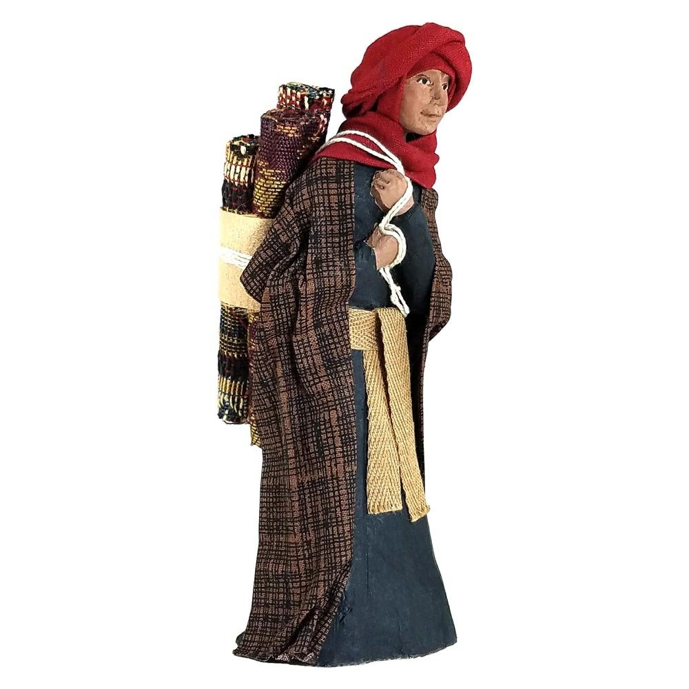 Nativity Figure - Tariq, the Rug Merchant