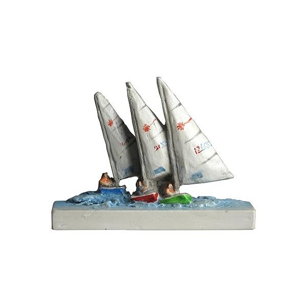 Marblehead VillageScape - Lasers Sailboats MA-MARB-VS-00556XXXXX