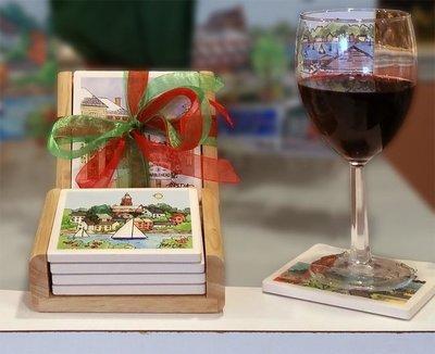 Marblehead Impressions - Coaster Set