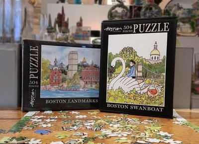 Boston Impressions Jigsaw Puzzles