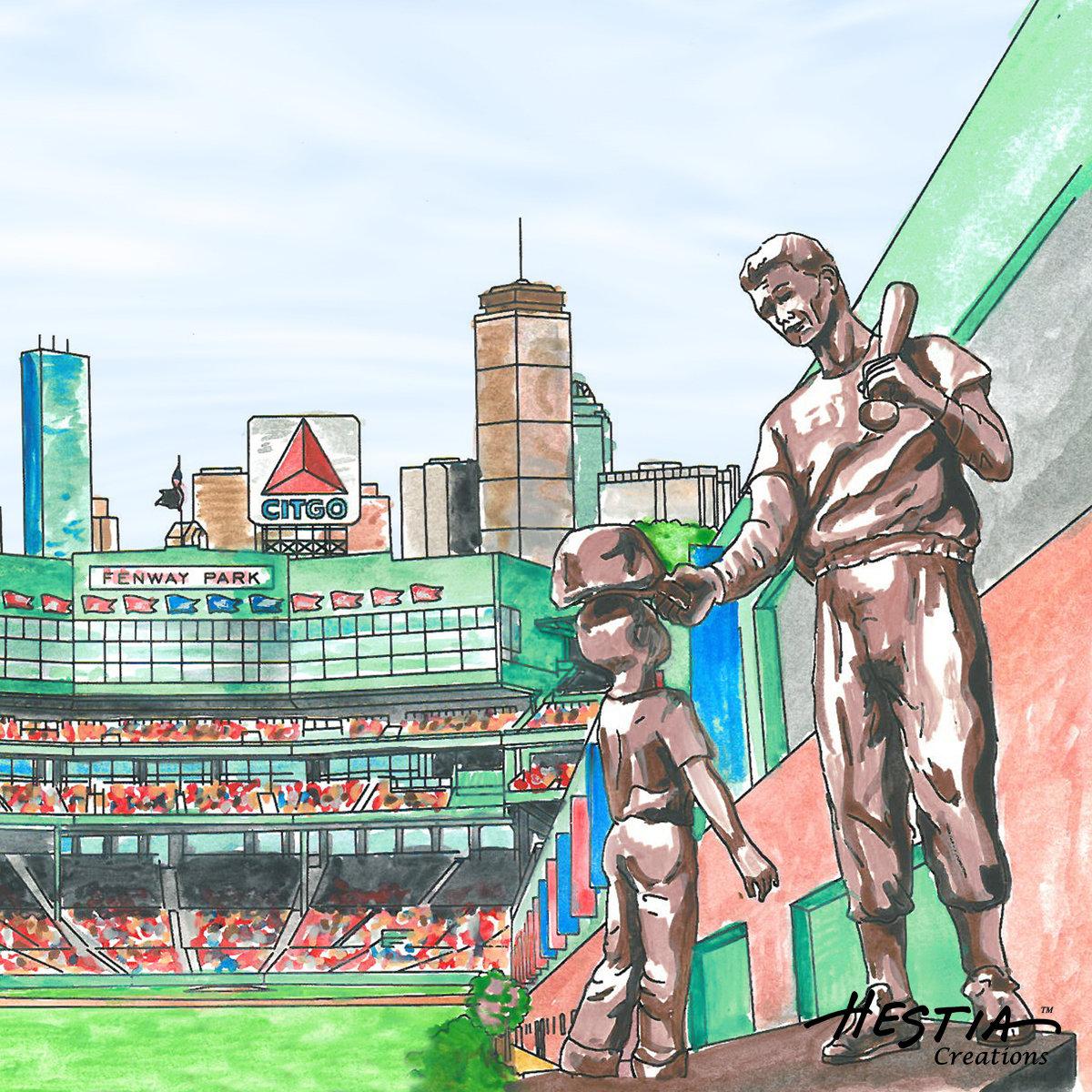Boston Impressions Coaster Set