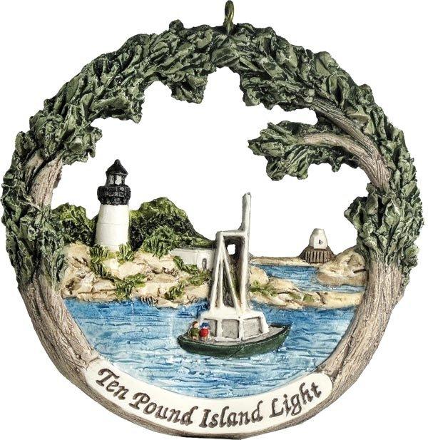 Cape Ann AmeriScape Ten Pound Island Light MA-GLOU-AS-02365XXXXX
