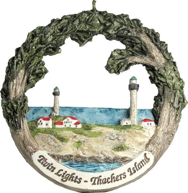 Cape Ann AmeriScape Twin Lights on Thacher's Island MA-GLOU-AS-01984XXXXX