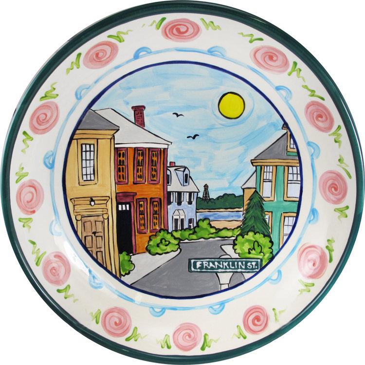 """Marblehead Ceramics - 15"""" Pasta Bowl"""