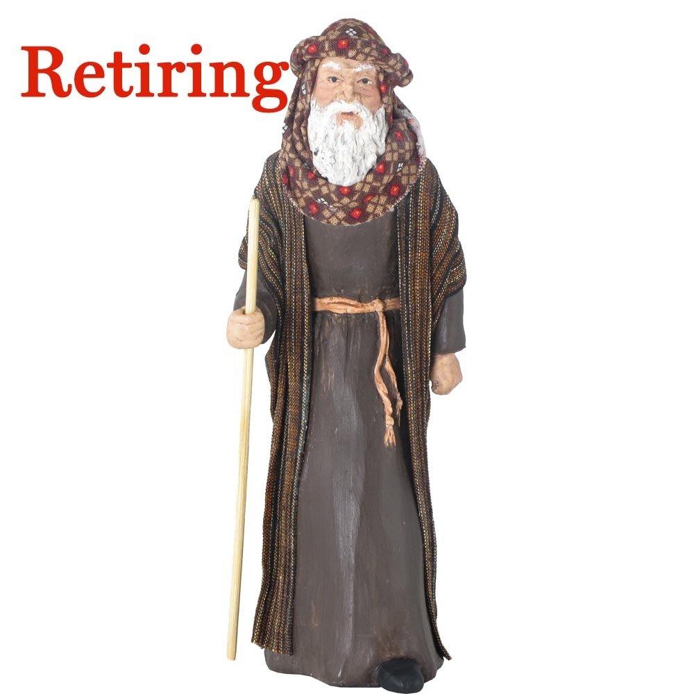 Retiring - Nativity Figure - Zechariah, Father of John the Baptist NT-FIGU-ZECHARIAHXX09