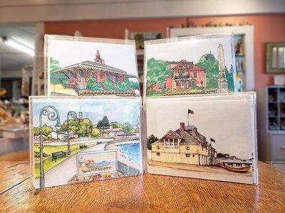 Swampscott Impressions Notecards