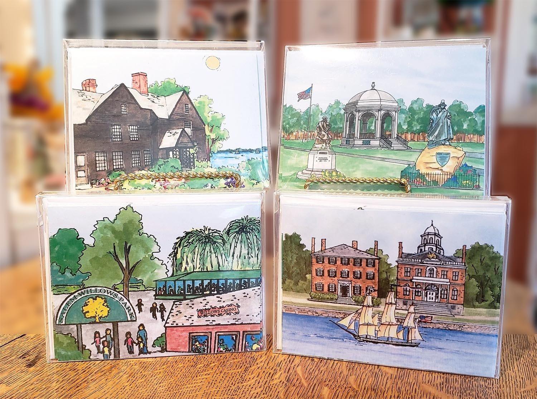 Salem Impressions Notecards MA-SALE-WC-NOTECARDSX
