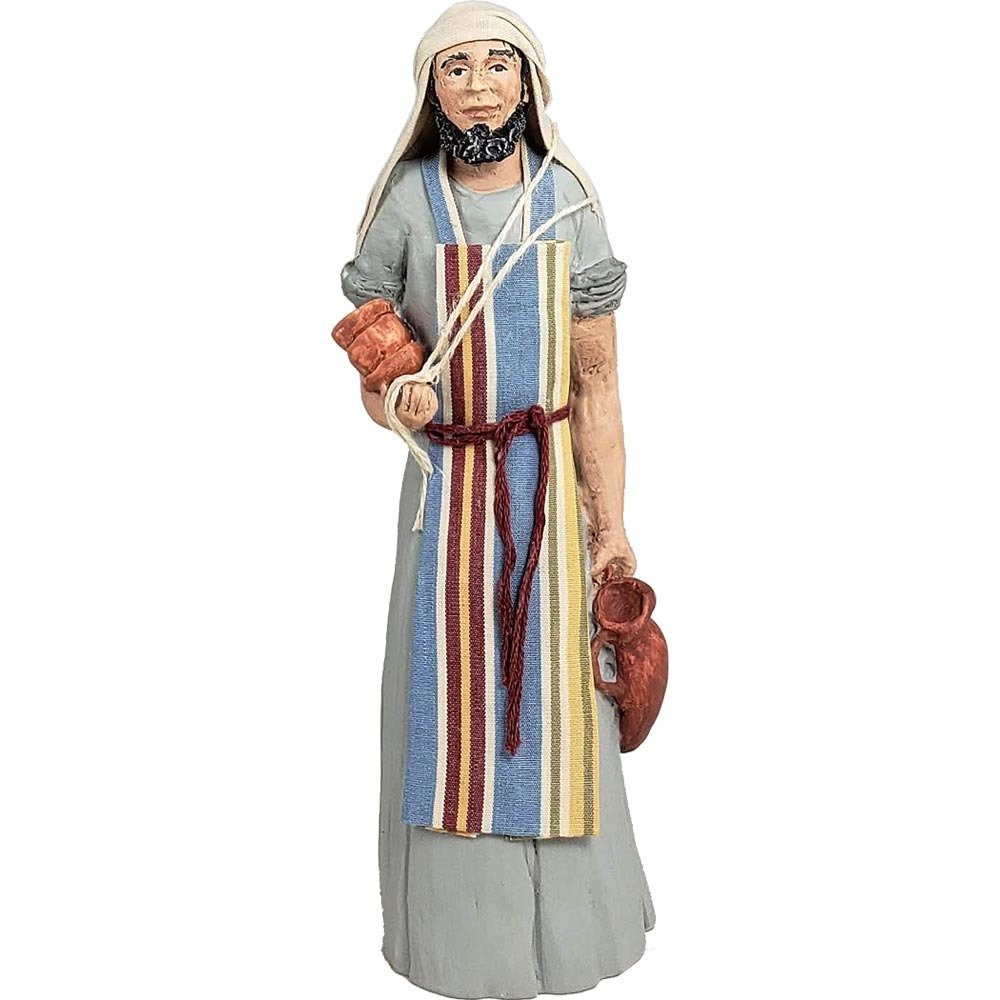 New - Nativity Figure - Jeremiah, the Potter NT-FIGU-JEREPOTTERX18