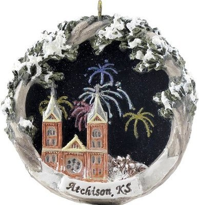 AmeriScape Ornament St. Benedict's Church, Atchison, KS