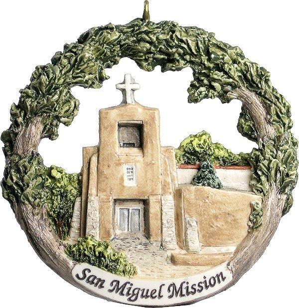 AmeriScape Ornament San Miguel Mission, Santa Fe, New Mexico