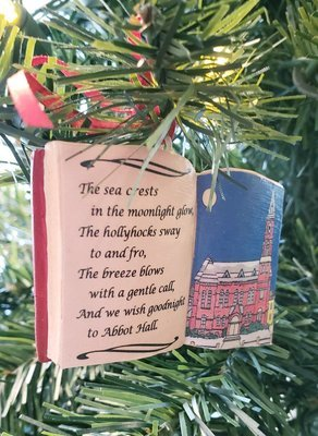 Marblehead Impressions - Abbot Hall Poem Ornament