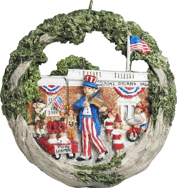 2018 Marblehead Annual Ornament - Horribles Parade MA-MARB-AS-05000SYN18