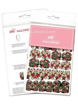 Naildress Slider Design #33 Tropical Print