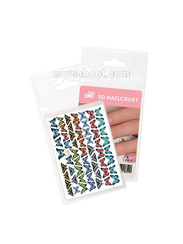 Nailcrust 5D #10 Butterflies