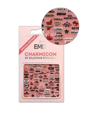 Charmicon 3D Silicone Stickers Spain 3