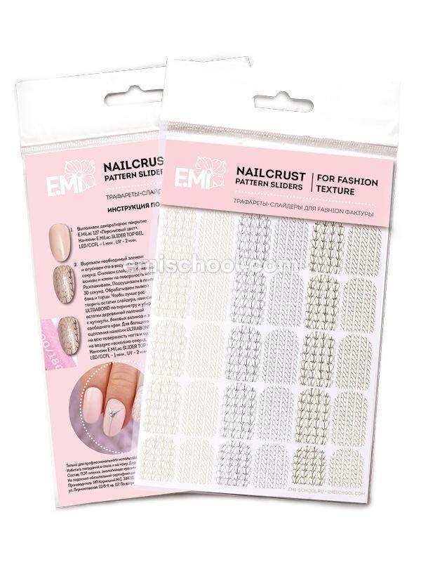 NAILCRUST Pattern Sliders Braids #31