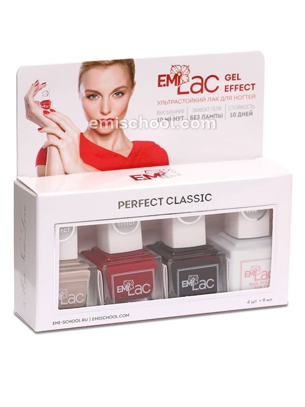Nail Polish Set Perfect Classic