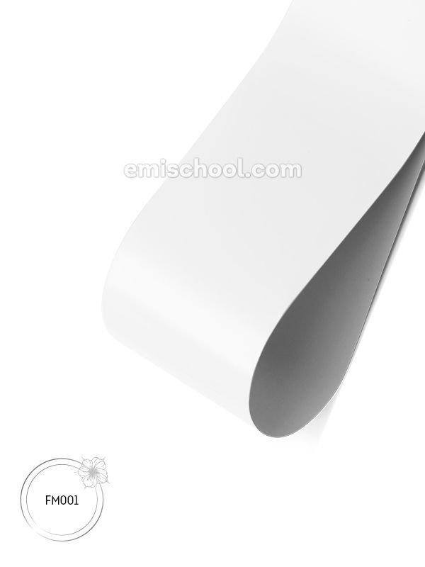 Foil matte White, 1.5 m