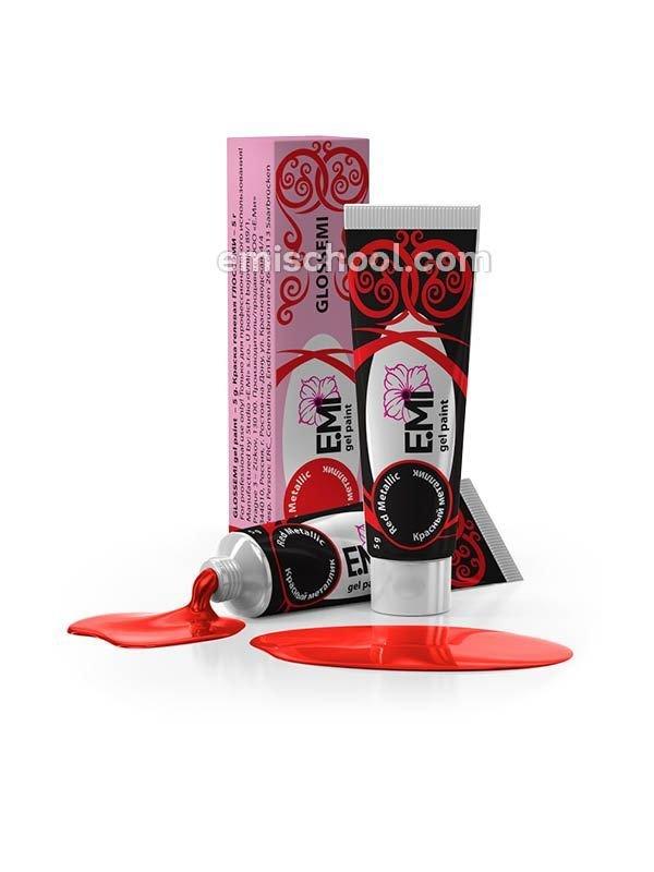 GLOSSEMI Red Metallic, 5 ml
